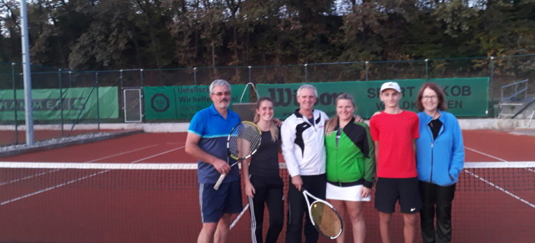 Mixed- Turnier 2019 des TC 88 Waldkirchen